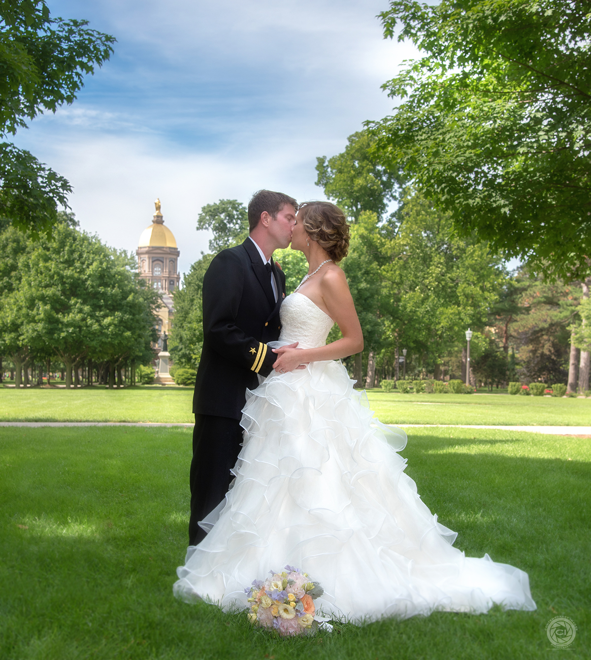 Notre Dame Wedding Photography