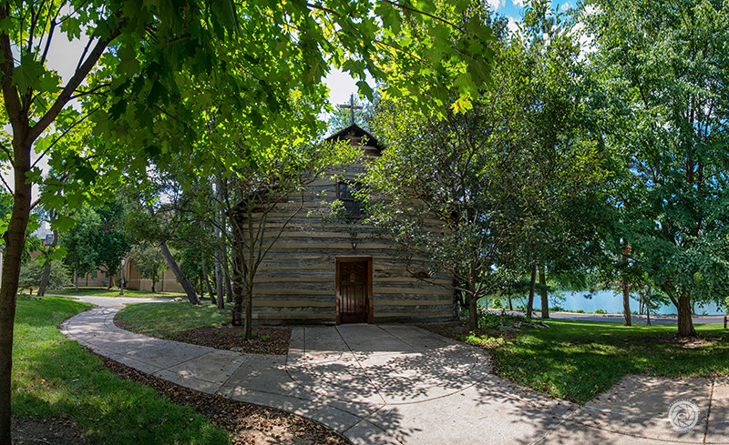 Notre Dame University's Log Chapel