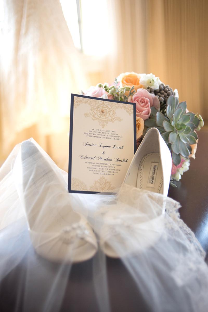 South Bend Wedding Photography- Notre Dame University