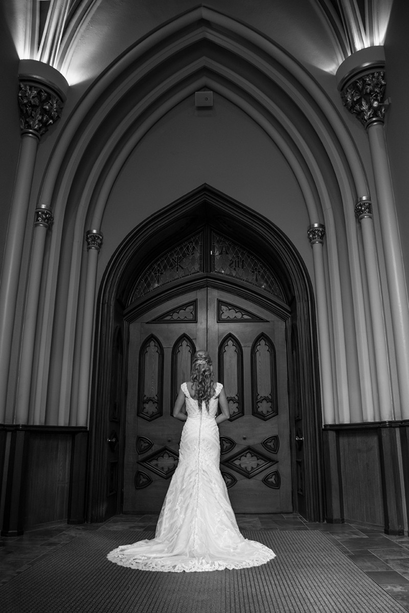 Wedding Photography _Basilica- Notre Dame